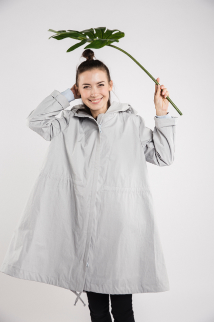 LeMuse light blue RAIN raincoat-1