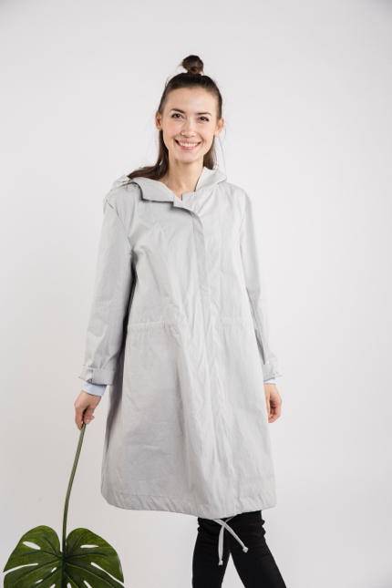 LeMuse light blue RAIN raincoat