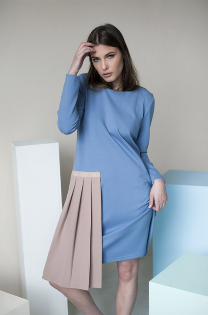 LeMuse sky blue STUDIO dress