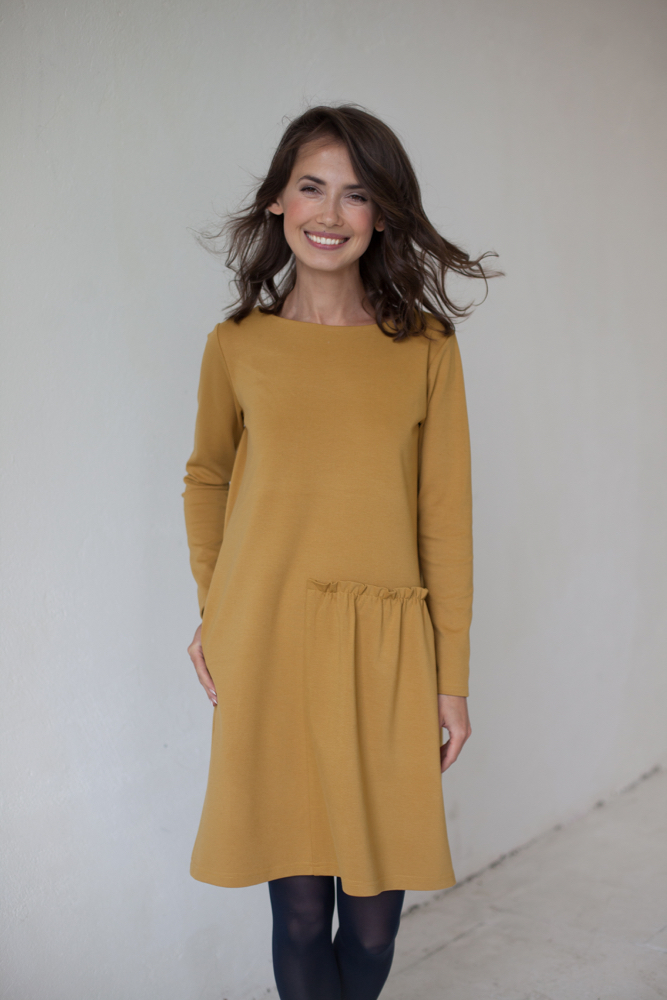 LeMuse yellow CUTE dress