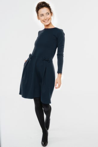 LeMuse deep blue MADMUAZEL dress