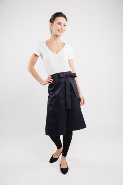 LeMuse black LEAR skirt-2