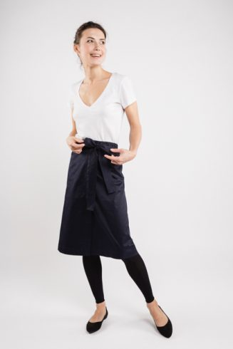 LeMuse black LEAR skirt