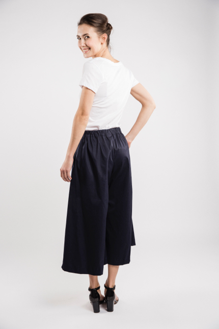 LeMuse deep blue TREND skirt trousers-4