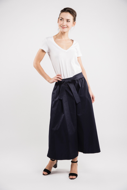 LeMuse deep blue TREND skirt trousers