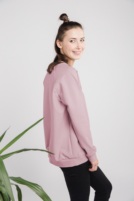 LeMuse dusty rose CASUAL jamper-1