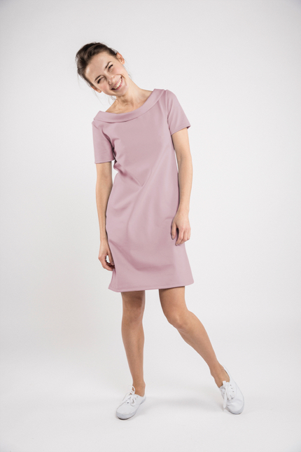 LeMuse dusty rose STORY dress-1