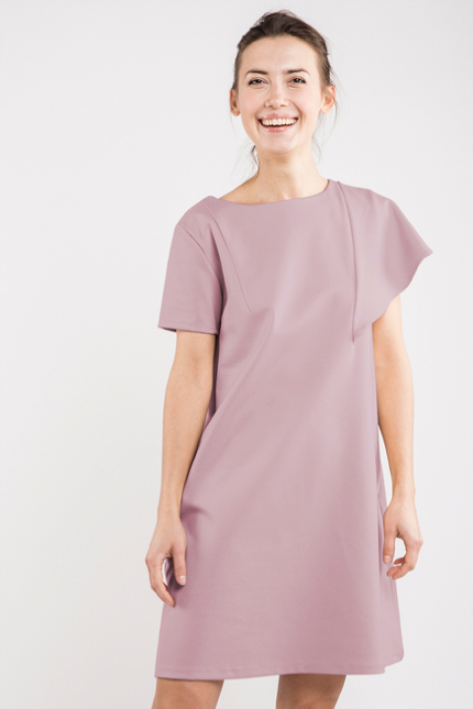 LeMuse dusty rose SUMMER WING dress