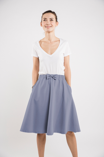 LeMuse light blue CINDY skirt
