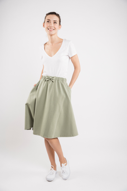 LeMuse mint CINDY skirt