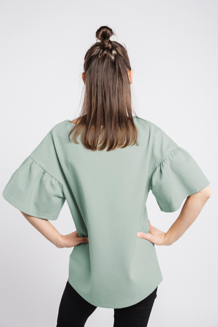 LeMuse mint LOVESTORY blouse-1