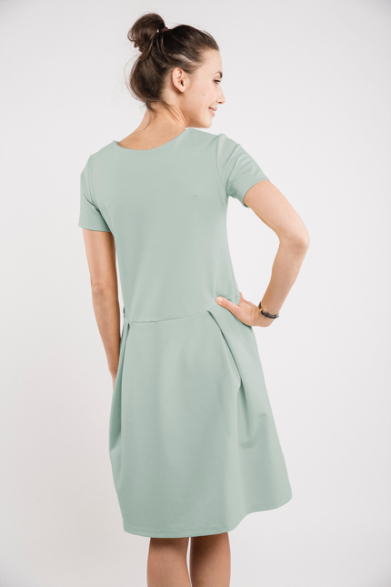 LeMuse mint MADMUAZEL dress-1