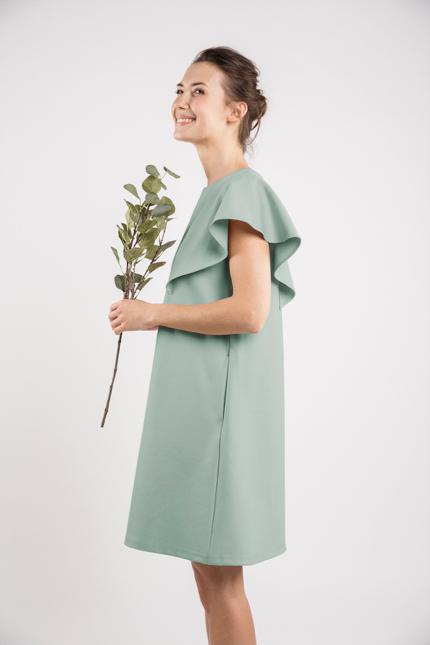 LeMuse mint SUMMER WING dress-2