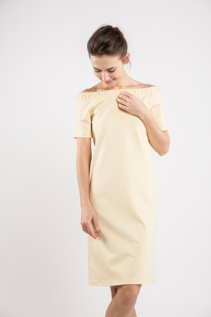 LeMuse sand SUMMER MUSIC dress-1