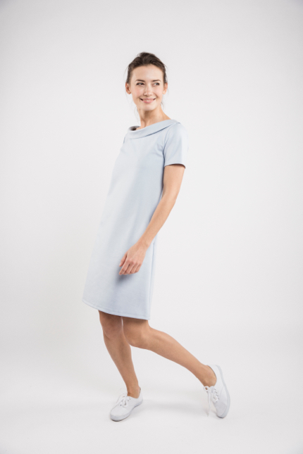 LeMuse sky blue STORY dress-1