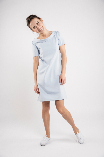 LeMuse sky blue STORY dress-2