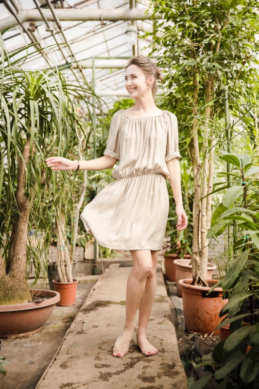 LeMuse sand BLUSH dress-2