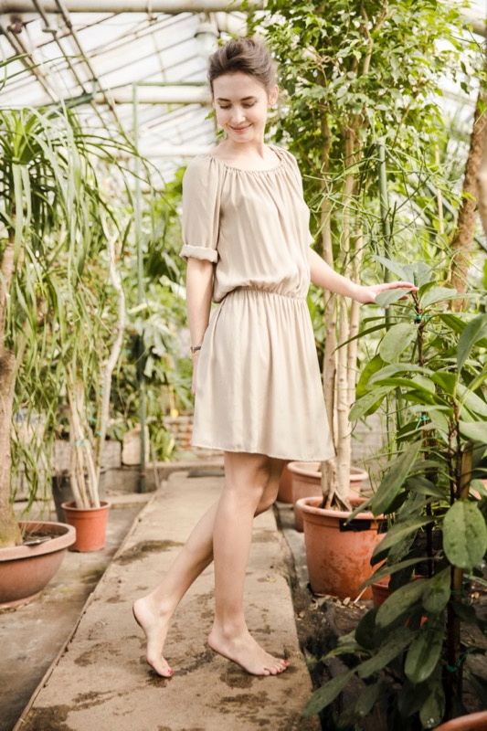 LeMuse sand BLUSH dress-3