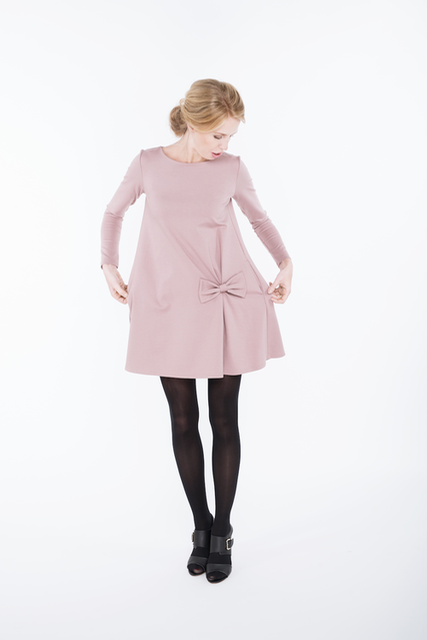 LeMuse dusty rose KISS dress