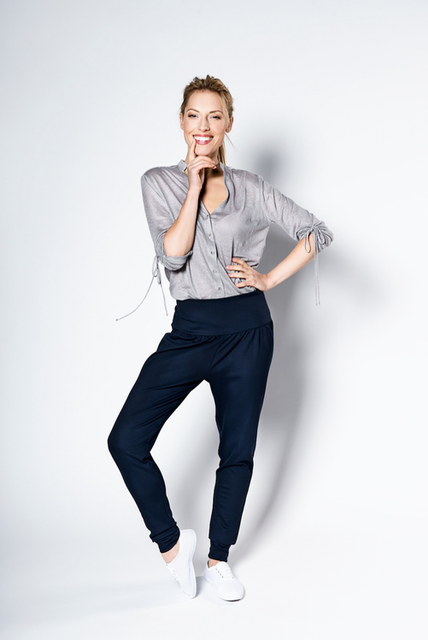 LeMuse deep blue trousers