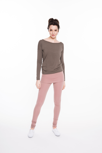 LeMuse DUSTY ROSE yoga trousers