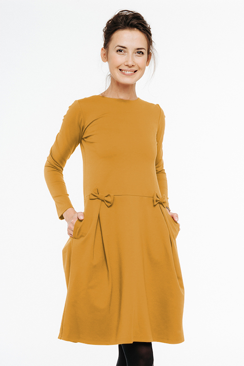 LeMuse yellow MADMUAZEL dress