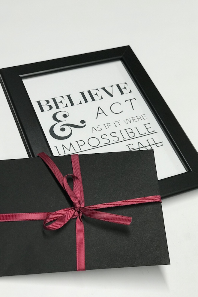 LeMuse GIFT: believe and act