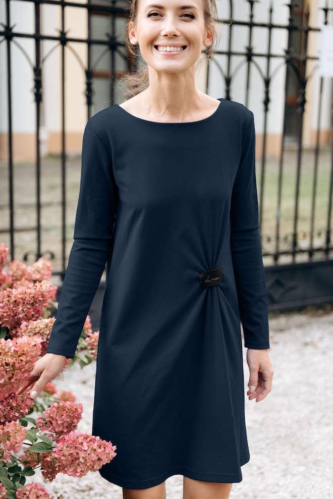 LeMuse deep blue PLAY dress